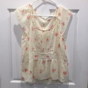 Abercrombie & Fitch, Woman's Floral Blouse